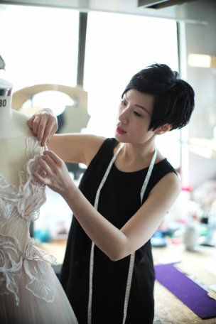 Noel Chu, wedding dress design, Hong Kong